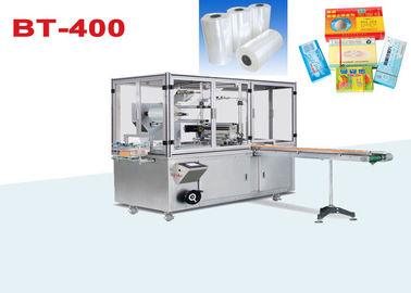 Auto 3D Box Transparent Film Owijarka Cellophane Overwrapping Machinery