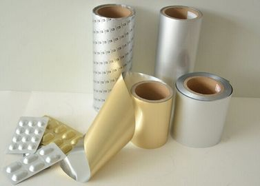 Chiny Cold Formable Alu Foil / Alu Alu foil Pharmaceutical Blister Packing Alu Foil Roll fabryka