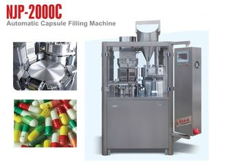 NJP-2000C High Speed ​​Hard Capsule Filling Machine do napełniania proszkiem lub granulatem